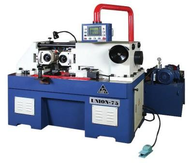 UM-75 (75A) thread rolling amchines, 2-roll forming machines, 2-roll thread rolling machines, hydraulic thru feed type thread rolling amchines