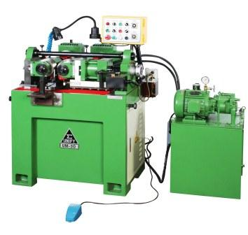 Thru feed and in-feed (plunge feed) both available:  The rolling time and the rolling length can be adjusted by the sensors.